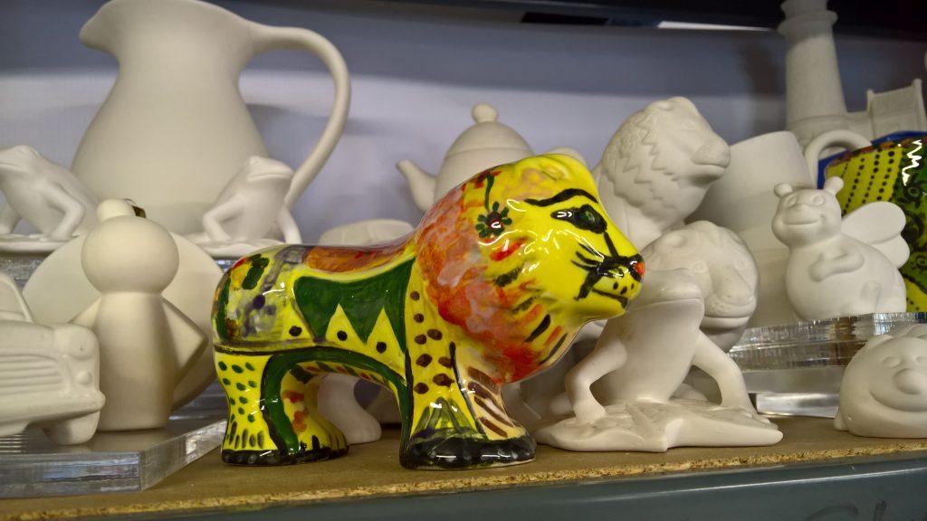 Pottery Glazing workshop classes